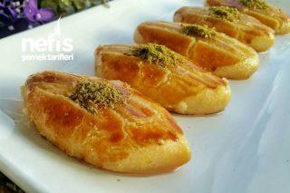 Altın Şekerpare (Lokum Pastane Şekerparesi) Tarifi