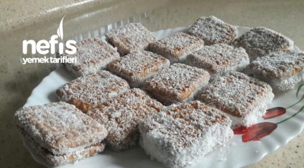 Burçak Bisküvili Pratik Pasta