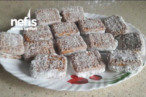 Burçak Bisküvili Pratik Pasta Tarifi