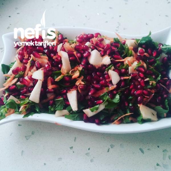 doğal Armutlu Narlı Enfes Salata