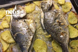Fırında Nefis Çupra Balığı Tarifi