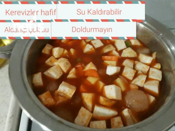 Kereviz Yemeği (bezelyeli Kemik Sulu)