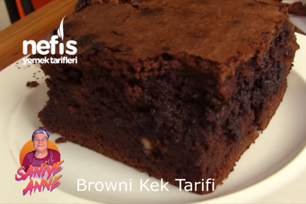 Brownie Kek (Videolu)