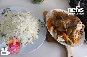 İç Pilavlı Tavuk Dolması (Videolu) Tarifi