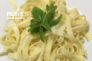 Yassı Spagetti Bavette (Tereyağlı) Tarifi