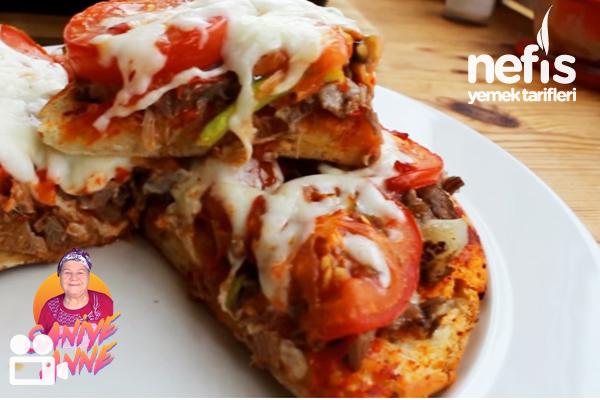Bazlama Pizza Tarifi (Videolu)