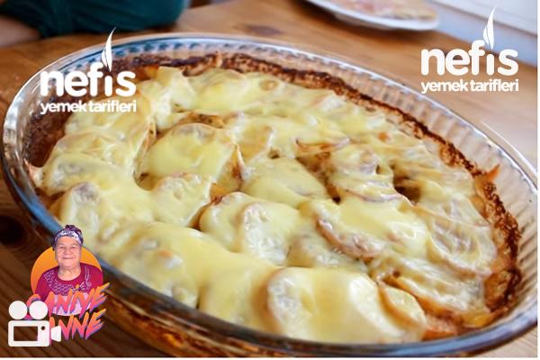 Fırında Kremalı Patates (Videolu)