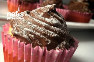 Kreması Muhteşem Muffin Tarifi