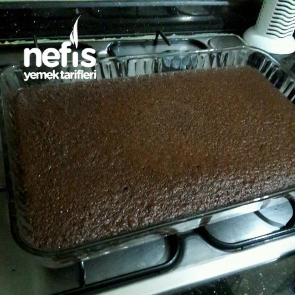 Pastane Usulü Islak Kek(Browni Tadında)