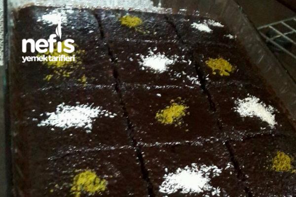 Pastane Usulü Islak Kek (Browni Tadında)