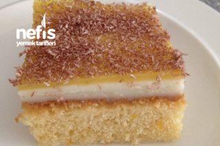 Portakallı Kumlu Pasta Tarifi