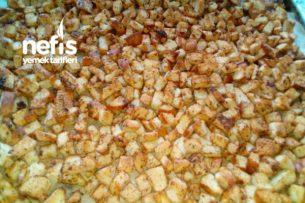 Çorbalara Kıtır Ekmek Tarifi