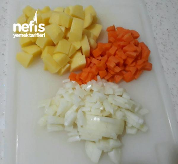 Karnabahar Yemeği (patatesli Kemik Sulu)