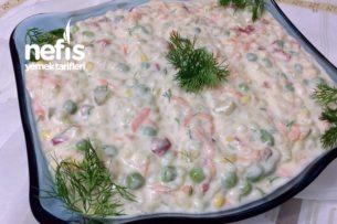 Şahane Yoğurtlu Kuskus Salatası (Bol Sebzeli) Tarifi