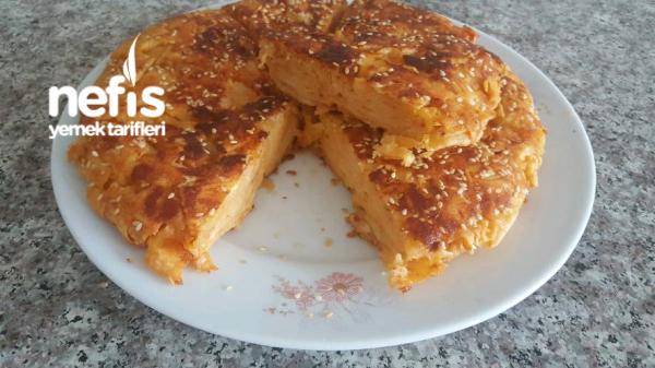 Kahvaltıya Şipşak Tavada Kırpık Börek