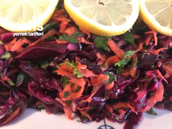 Mor Salata (turşu Tadında Nefis)