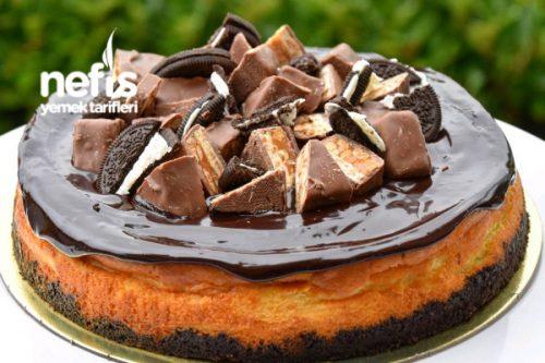 Oreolu Snickers Cheesecake Tarifi