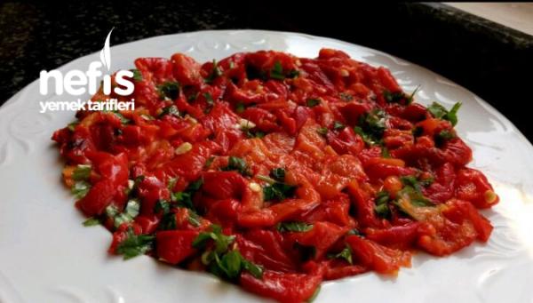 Pratik Koz Biber Salatası