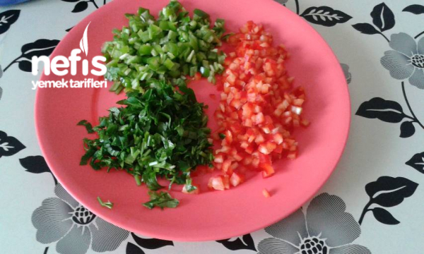 Sebzeli Pati Kızartması