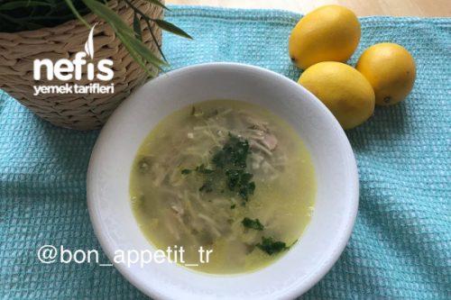Terbiyeli Tavuk Suyuna Çorba (Şifa Çorbası) Tarifi