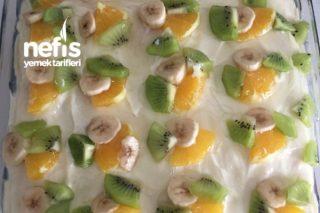Borcamda Meyveli Pasta Tarifi