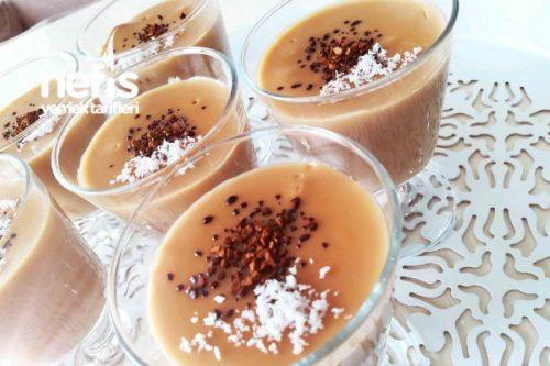 Granül Kahve Puding Tarifi