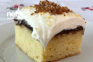 Çikolata Kremalı Limonlu Kek Tarifi