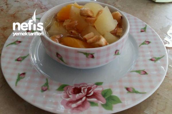 Elmalı Kayısı Kompostosu Tarifi