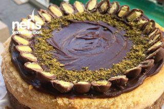 Çikolata Soslu Chesscake Tarifi
