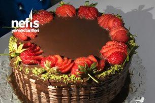 Çikolatalı Meyveli Pasta Tarifi