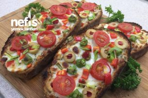 Kahvaltılık Sarımsaklı Ekmek Dilimleri Tarifi