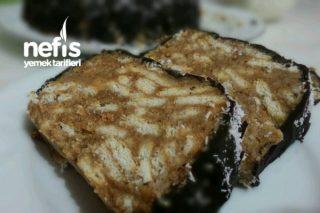 Meyveli Karamelli Mozaik Pasta Tarifi