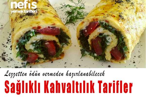 10 Sağlıklı Kahvaltı Tarifi
