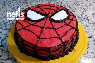 Örümcek Adam Pasta Tarifi