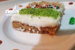 Enfes İncirli Muhallebili Pasta Tarifi