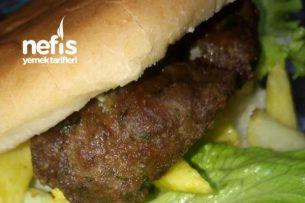 Ev Usulü Hamburger Tarifi