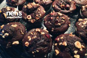 Fındıklı Bol Çikolatalı Muffin Tarifi