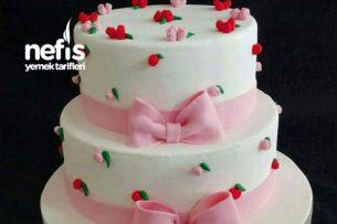 Nişan Pastası Süsleme Modeli Tarifi