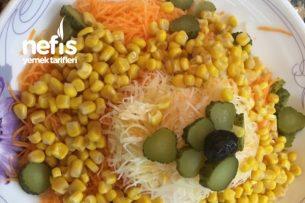 Sağlıklı Mevsim Salata Tarifi