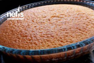Sünger Gibi Bir Kek (Triliçeye Gelin Pastasına) Az Ölçülü Tarifi