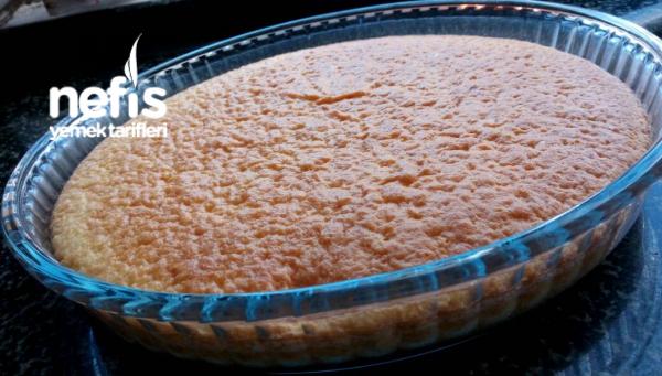 Sünger Gibi Bir Kek (tiriliceye Gelin Pastasina) Az Ölçülü