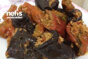 Zeytin Yağlı Kuru Biber Ve Patlıcan Dolması Tarifi