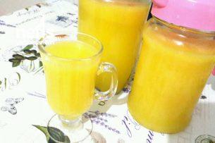 2 Portakal Ve 1 Limonla 3 Litre Limonata (Hazır Tadında) Tarifi