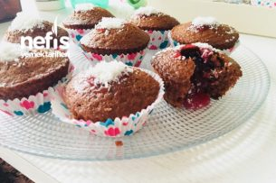 Çikolatalı Narlı Muffin (Nefis) Tarifi