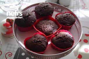 Damla Çikolatalı Kakaolu Mufin Kek Tarifi