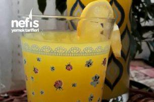 Ev Yapımı Tam Tarifinde Limonata