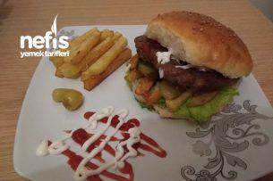 Evde Hamburger Keyfi (En Doğalından) Tarifi