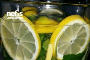 Harika Şekilde Tok Tutan Limonlu Karışım Tarifi