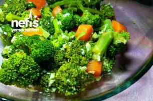 Mandalina Soslu Brokoli Salatası (Vitamin Deposu) Tarifi