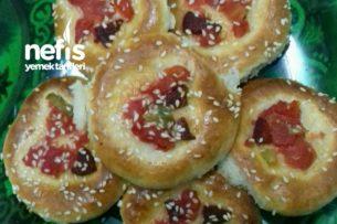 Pastane Ustasından Mini Pizza Poğaçalar Tarifi